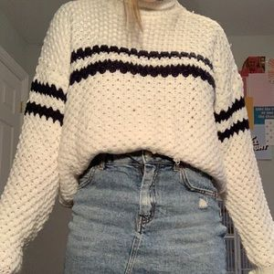 Forever 21 knit sweater striped